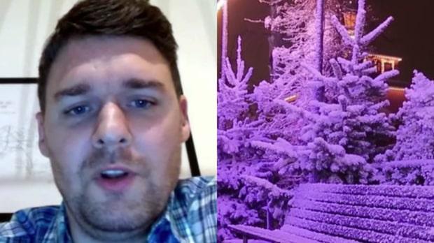 """Meteorologen om julvädret: """"Chanserna för en vit jul är lite mindre"""""""