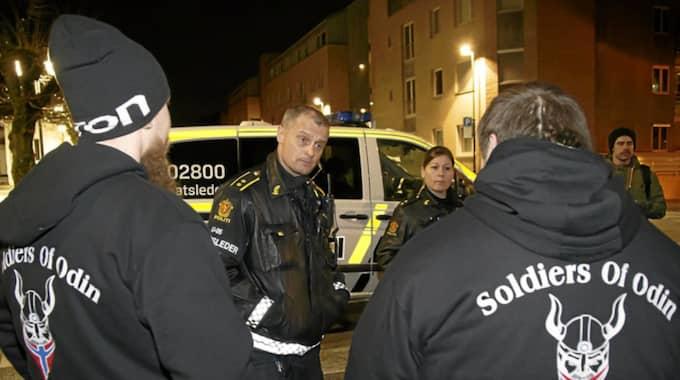 Mer än 6 000 svenskar ger öppet sitt stöd till den heilande vitmaktsekten Soldiers of Odin. Foto: AP