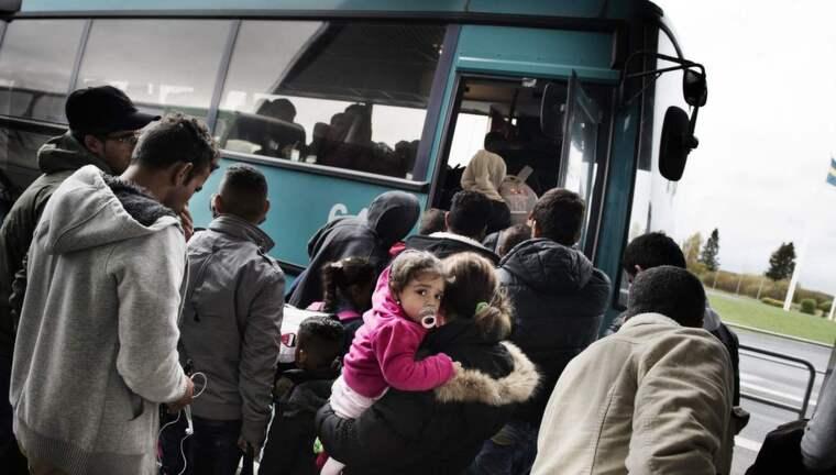Migrationsverket planerar för att ta emot 100 000 asylsökande de närmaste. Foto: Anna-Karin Nilsson