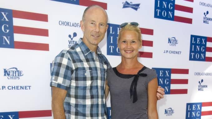 Ingemar Stenmark och Tarja Olli. Foto: Stefan Söderström