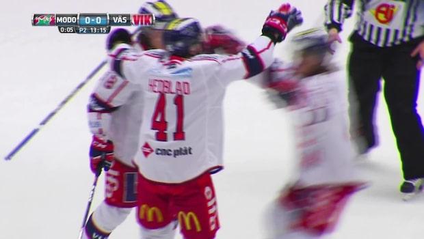 Västervik vann mot Modo för tredje gången