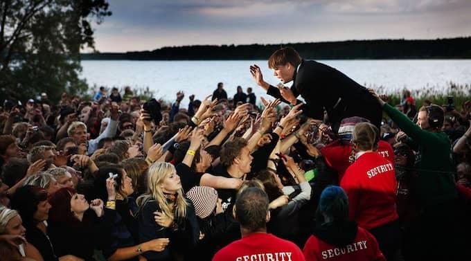 The Hives spelade på festivalen 2008. Foto: Christian Örnberg