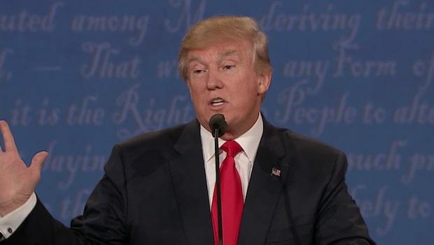 Trump vägrade svara på om han accepterar en förlust