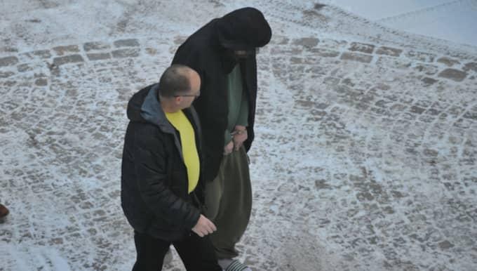 Den 34-årige mannen misstänks för mordet på en rullatorburen man i 60-årsåldern. Foto: David Hårseth