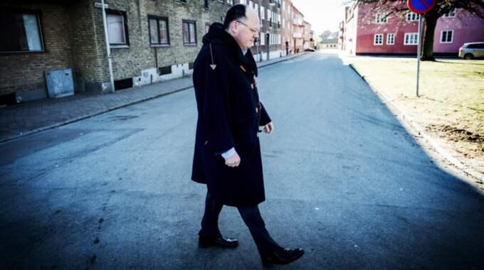 """KÄMPAR. """"Det stora problemet har varit omflyttningen. Att det finns en stor social instabilitet"""", säger Landskronas mäktigaste politiker Torkild Strandberg (L). Foto: Christian Örnberg"""