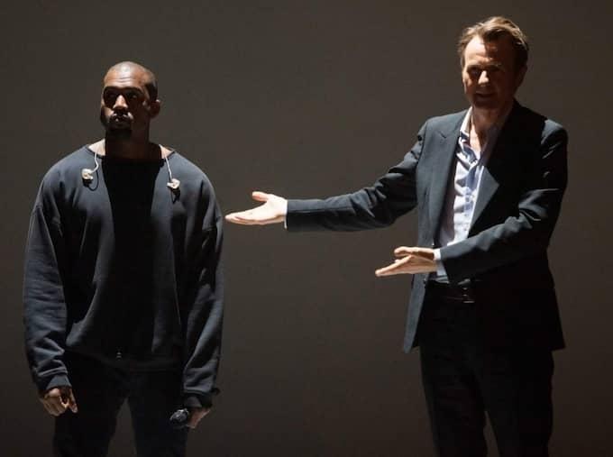 Kanye West ville inte bli intervjuad.