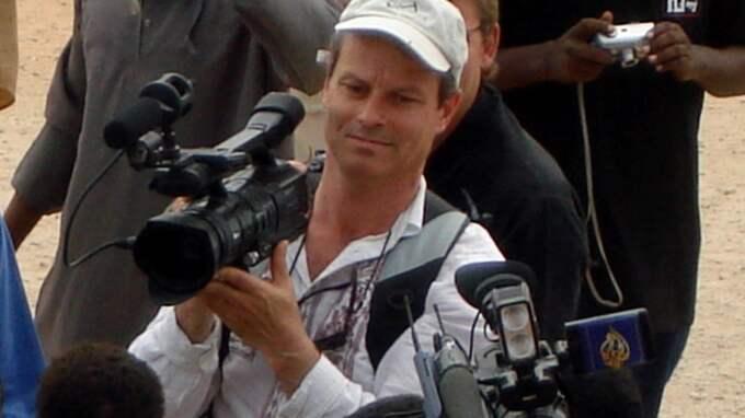 Martin Adler var prisbelönt frilansjournalist och nyhetsfotograf. Den 23 juni 2006 sköts han ihjäl i Somalias huvudstad Mogadishu. Foto: Str
