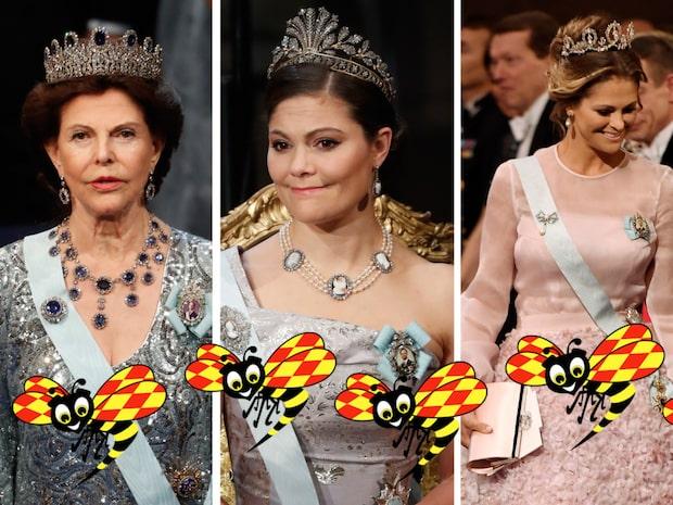 Så snyggt klär sig Nobelgästerna