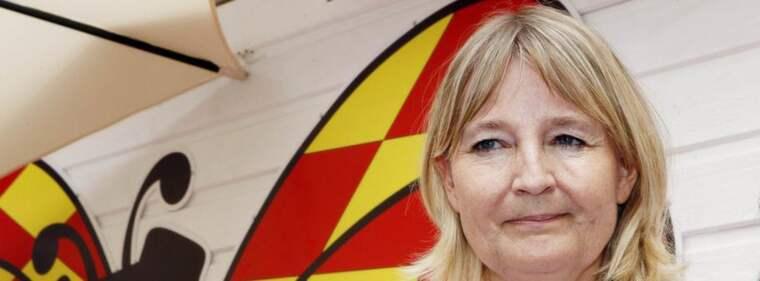 Socialdemokraten Marita Ulvskog frågades ut i Expressen webb-tv. Då bad hon om ursäkt för hur hon tidigare uttryckte sig om C-ledaren Annie Lööf:s ta på Twitter. Foto: Cornelia Nordström