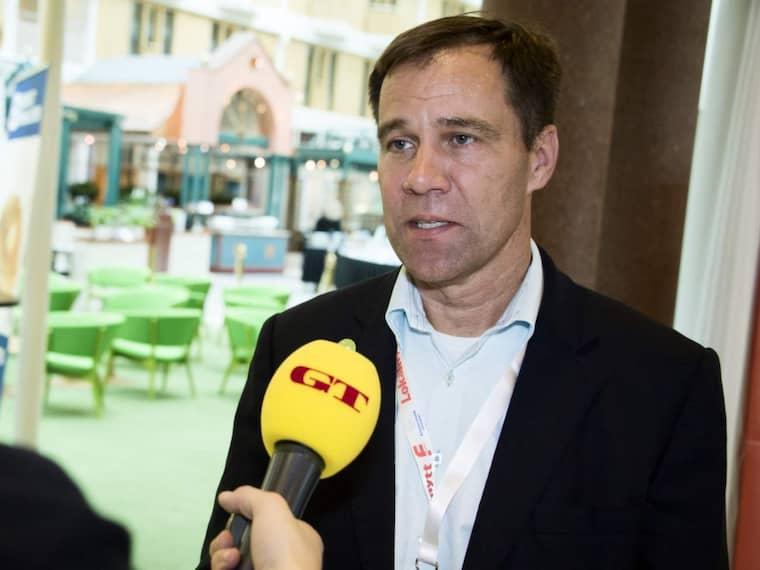 Martin Wannholt är på jakt efter en politisk framtid. Foto: Robin Aron