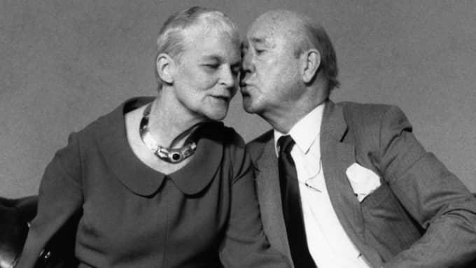 Tuss Hyland var gift med tv-legendaren Lennart Hyland. Foto: Leif R Jansson / Scanpix