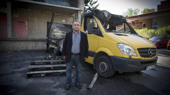 Handlarna i Husby har fått nog av kriminaliteten i området. Foto: Roger Vikström