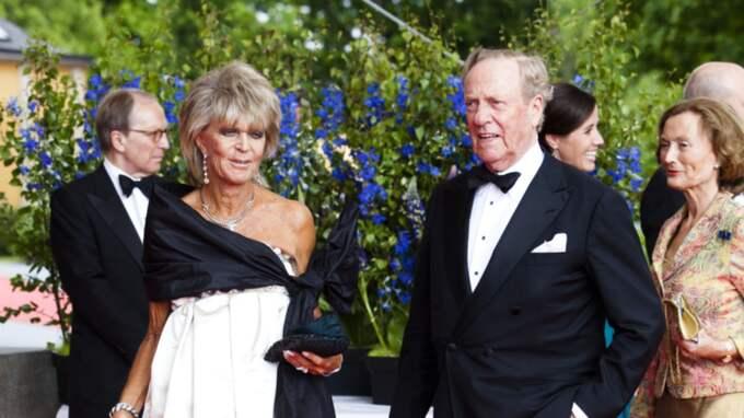 Johann Georg on Hohenzollem dog samma dag som prins Oscar föddes. Här är han och hustrun, prinsessan Birgitta, på en ceremoni dagen för Victoria och Daniels bröllop 2010 Foto: Andreas L Eriksson