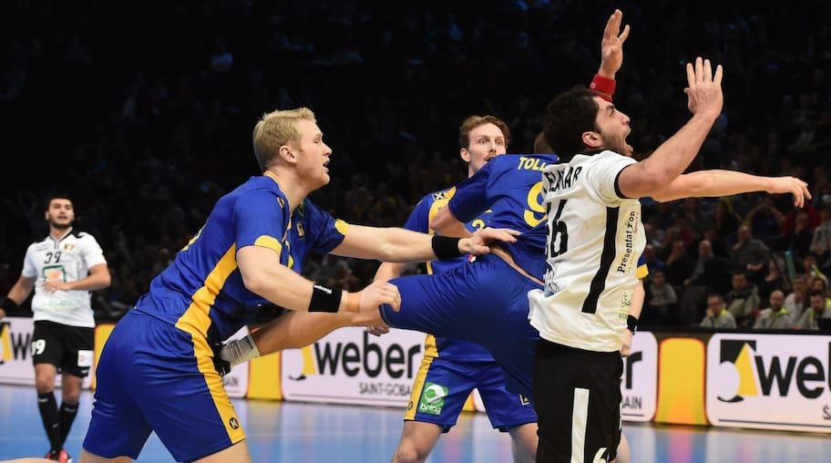 Sverige krossade Egypten i handbolls-VM