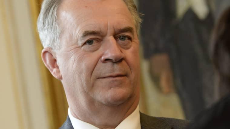 Landsbygdsminister Sven-Erik Bucht (S). Foto: Jonas Ekströmer/TT