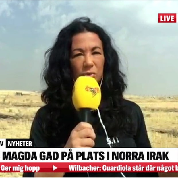 "Magda Gad om situationen i Mosul: ""Som en undergångsfilm"""