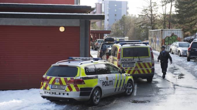 En pojke har tagits till sjukhus efter att ha knivstuckits på en skola i Bergen i Norge. Foto: NTB SCANPIX TT NYHETSBYRÅN/Hommedal, Marit