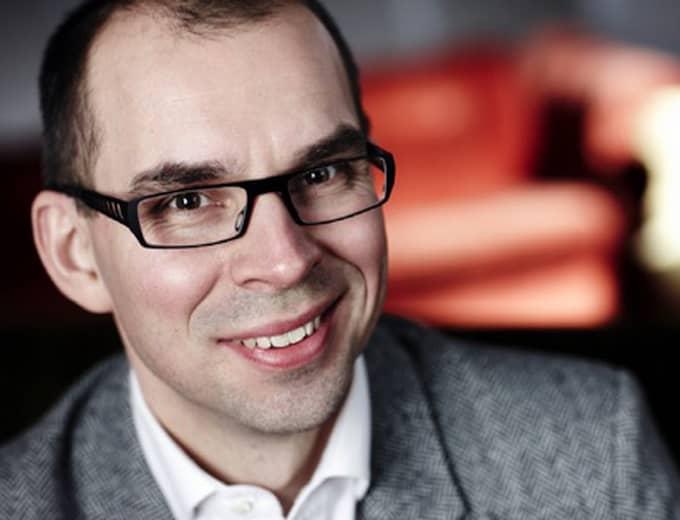 Niklas Nordström, fd SSU-ordförande numera Prime-konsult.