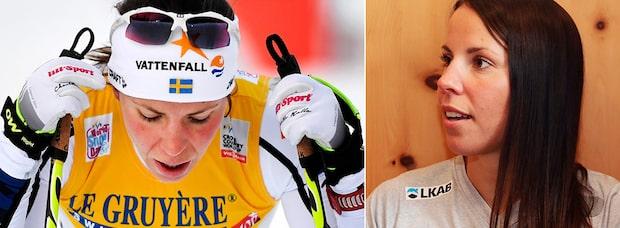 "Pettersson: ""Fantastiskt kul att se Charlotte i Tour de ski"""