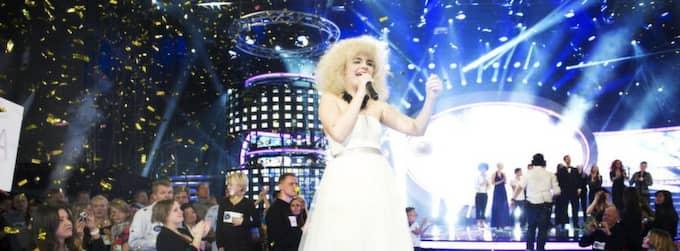 Amanda Fondell vann Idol 2011. Foto: Olle Sporrong