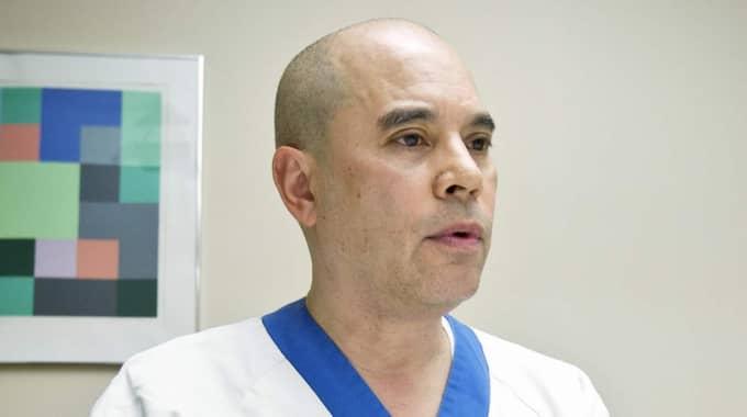 GABRIEL OTTERMAN. Barnläkaren flyttade till Sverige, blev medlem i Mio-gruppen 2003 och har en ledande funktion inom ett sällskap med skakvåldsdiagnos-förespråkare i USA. Foto: Sven-Olof Ahlgren/UNT