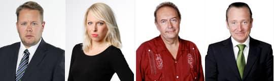 Fredrik Sjöshult, Malin Collin, Mats Olsson och Johan T Lindwall har alla chattat med Expressens läsare.