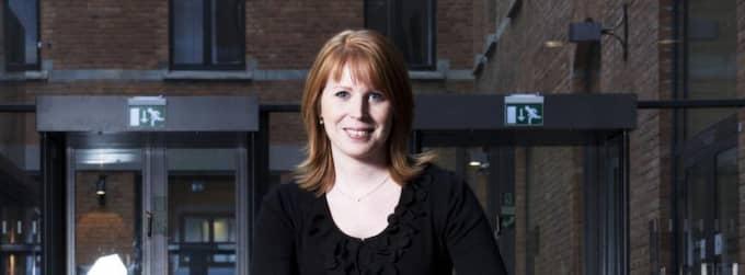 KRITISERAS. Annie Lööf får i dag svidande kritik av den förre detta centerpolitikern Börje Hörnlund. Foto: Olle Sporrong