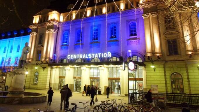 Det var oroligt vid Stockholms centralstation under fredagskvällen. Bilden är tagen vid ett tidigare tillfälle. Foto: Suvad Mrkonjic