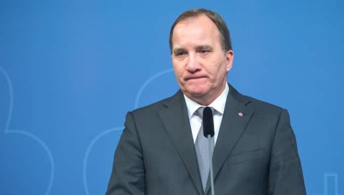 På lördagen inleds Socialdemokraternas kommunkonferens. Det är en hårt pressad Stefan Löfven som kommer att inledningstala. Foto: Pelle T Nilsson/AOP-IBL