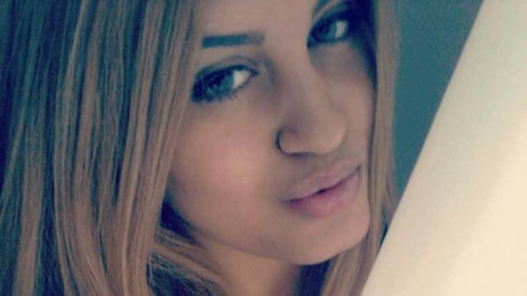 22-åriga Alexandra Mezher mördades på ett HVB-hem i Mölndal. Foto: Privat
