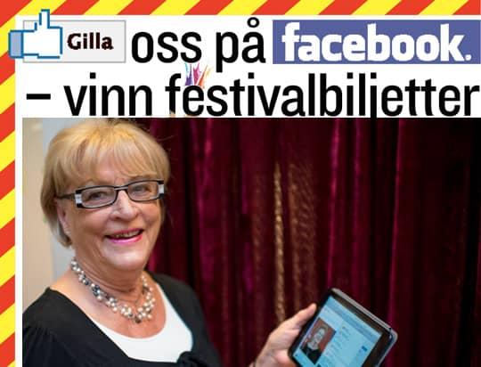 ANITA BRUHNER, 69 år: Gå in och gilla Kvällspostens facebook, det har jag gjort. Foto: Tomas Leprince