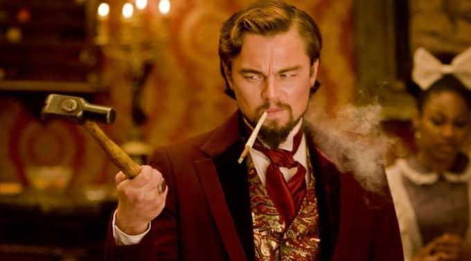 """Spelar monster. Leonardo Di Caprio spelar ett rasistiskt monster i Quentin Taran- tinos nya film """"Django unchained"""". Foto: Columbia Pictures"""