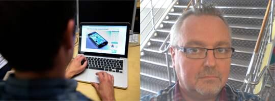Jan Saarinen, 51, synade bluffen. Nu vill han varna andra.