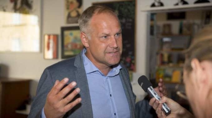 Jonas Sjöstedt. Foto: Sune Grabbe