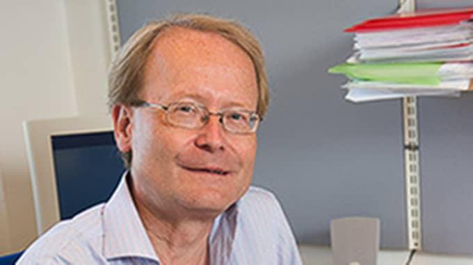 KI-rektorn Anders Hamsten. Foto: Jan-Olav Wedin