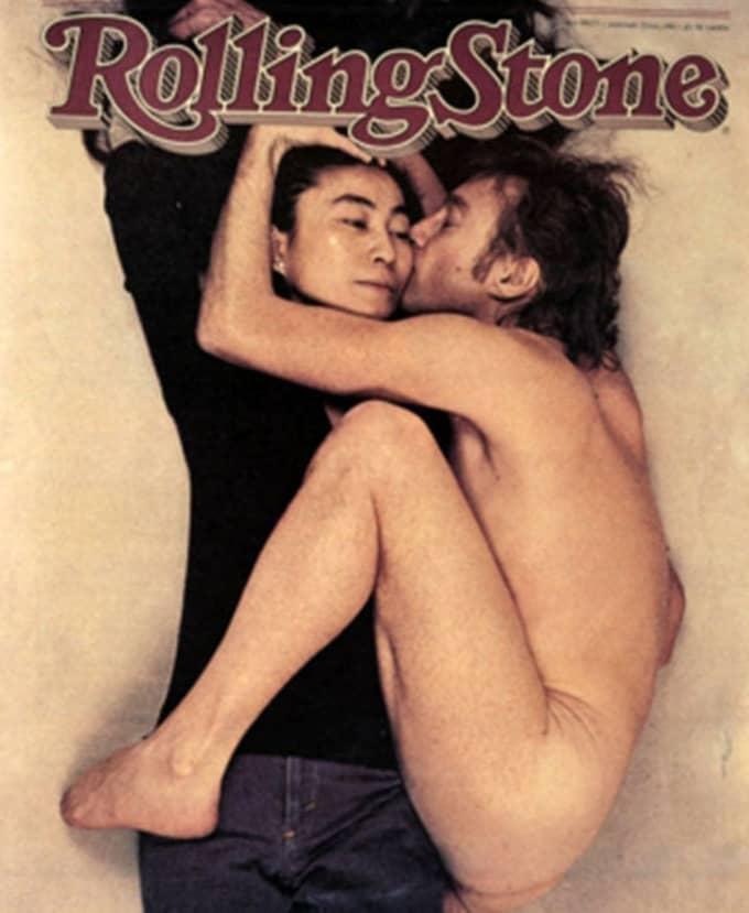 Yoko Ono var gift med Beatles-ikonen John Lennon.