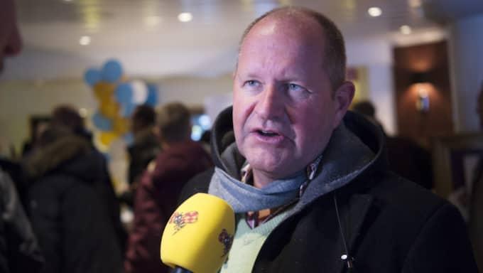 Rikspolischefen Dan Eliasson kritiseras av Mattias Karlsson (SD). Foto: Sven Lindwall