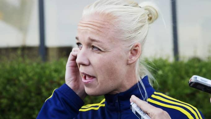 Caroline Seger Foto: Nils Petter Nilsson