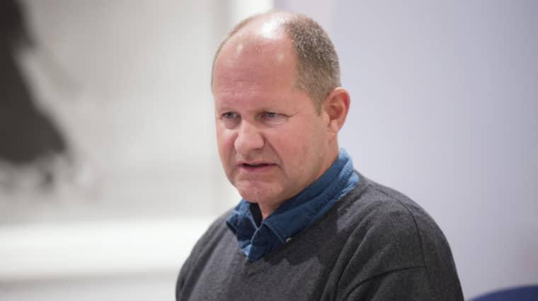 Rikspolischefen Dan Eliasson efterlyser upp till 2500 fler poliser i Sverige. Foto: Sven Lindwall