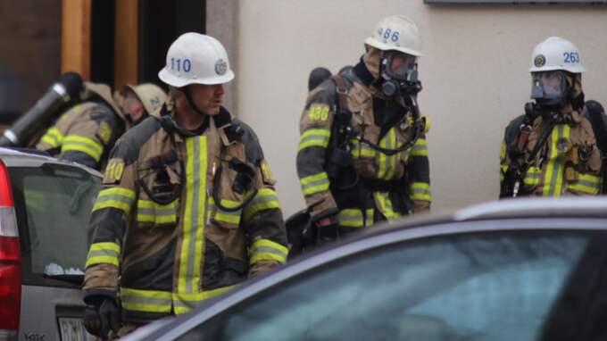 """Det är en """"överhängande fara för explosion"""" uppges i larmet. Foto: Janne Åkesson/Swepix"""