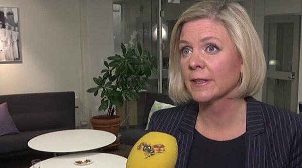 """Magdalena Andersson: """"En internt pressad moderatledare"""""""