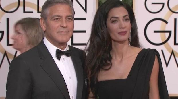 Uppgifter: Clooney ska få tvillingar