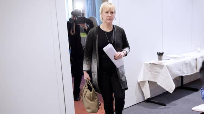 Margot Wallström har fått kritik från Israel. Foto: Sven Lindwall