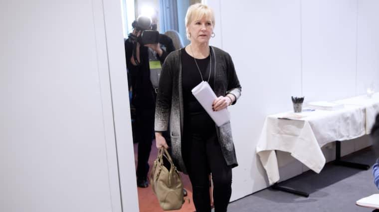 Margot Wallström har de senaste 21 åren tjänat 27 miljoner efter skatt. Foto: Sven Lindwall