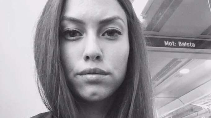 """Karina Roldan, 25 år, Nacka """"Det känns hemskt att inte ha den tryggheten, att man inte vet om man får plats när den dagen väl kommer. Men än har jag inte hunnit fundera så mycket på det"""". Foto: Privat"""