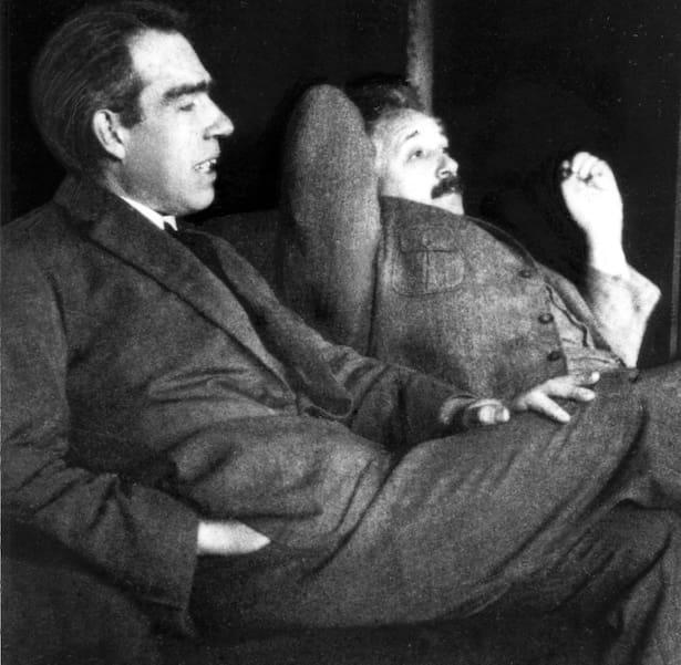 Einsteins varnar för en tysk uranbomb