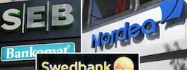Storbanker riskerar att falla – efter brexit