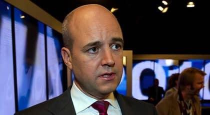 """ETT SÄTT ATT FÅ UPPMÄRKSAMHET. """"Det är en del av ett sätt att få uppmärksamhet när annat inte biter, när man saknar egen politik, när man märker att den kritik man framför inte vinner gehör"""", säger Fredrik Reinfeldt om att han framställs som känslokall. Foto: Sven Lindwall"""