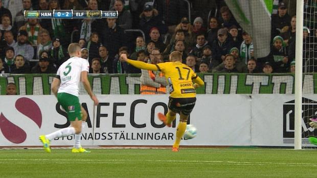Per Frick ökar på till 2-0 för Elfsborg
