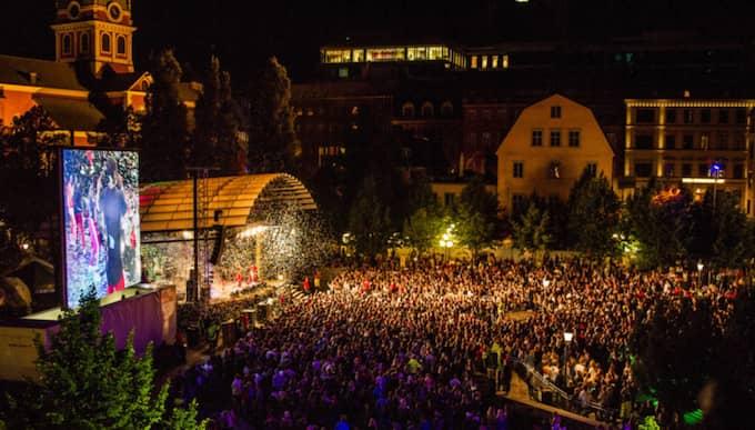 """Polisen är mycket självkritisk efter de uppgifterna som nu publicerats om festivalen """"We are Sthlm"""". Foto: Alexander Tillheden/We Are Sthlm"""